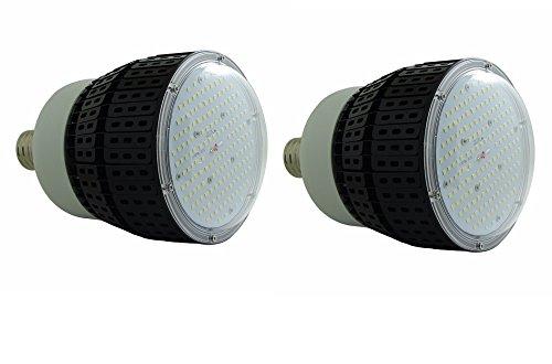 qty2 hb80 Ad e26 – 39 LEDハイベイガスステーションキャノピーライト6500 Kホワイト80 W Repl 480 W B07614NF5L