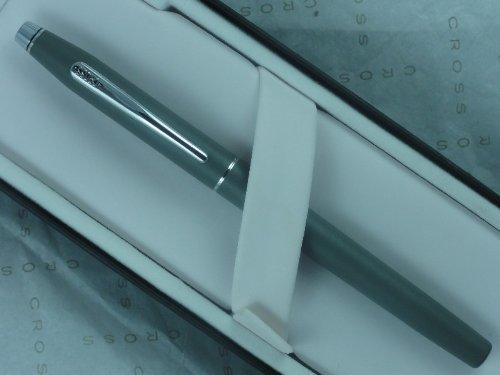 Cross Made in the USA Century Matte Gray Gel Ink Selectip Rollerball Pen