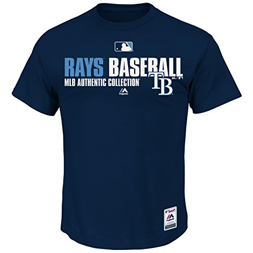 Adult Small Tampa Bay Rays Major League Baseball Licensed MLB Authentic Collection Team Favorite - Small Ray