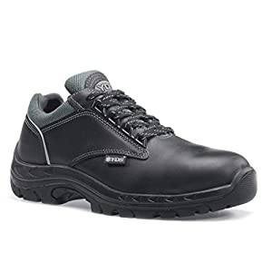 RUGGEDIM Athletic Lightweight, Metal Free, Anti-Static Safety Shoes with Toe Protection