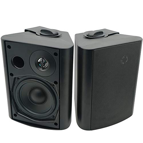 Herdio 5.25 Inches 200 Watts Indoor Outdoor Patio Bluetooth Speakers