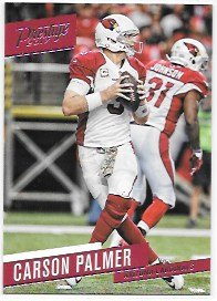 Carson Palmer 2017 Prestige Arizona Cardinals Card #77