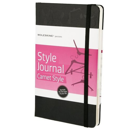 Moleskine Passion Journal - Style, Large, Hard Cover (5 x 8.25) (Passion Book Series) (Fashion Journal)