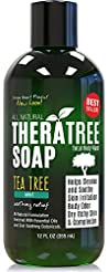 TheraTree Tea Tree Oil Soap with Neem Oi...