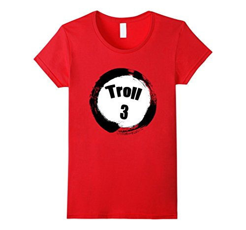 Womens Troll 3 Halloween Group Costumes Trick or Treat T-shirt Medium (Group Halloween Costumes For 3)