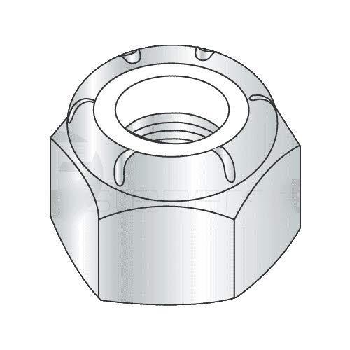 M24-3.00 Nylon Insert Locknut DIN 985 / Metric Class 10 Steel/Zinc Plated (Quantity: 25)