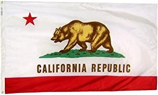 product image for All Star Flags 3x5' California Heavy Weight Nylon Flag from