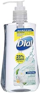 Dial Liquid Hand Soap, White Tea/Vitamin E, 9.375 Ounce