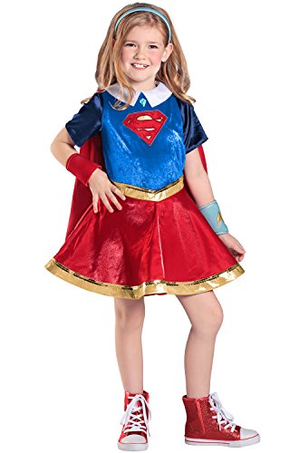 - 41AR97bDAIL - Princess Paradise Girls' Super Hero Premium Supergirl