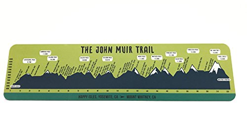 John Muir Trail Reflective Trail Sign