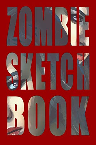 Zombie Sketch Book: Twins blank paper notebook for sketching, journaling, and design with Zombie theme cover -
