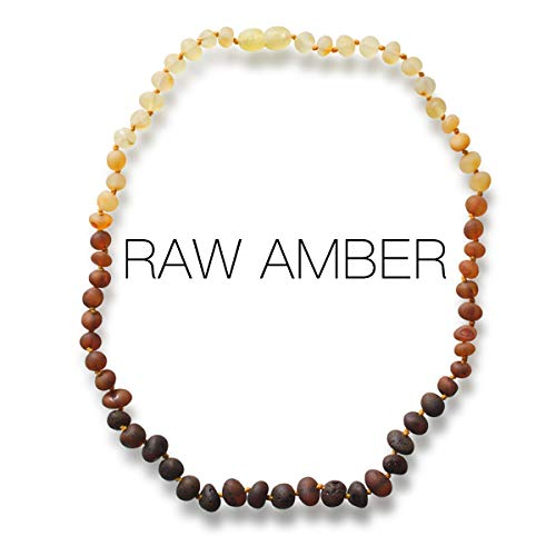 Meraki Amber Necklace - Raw Unpolished Baroque