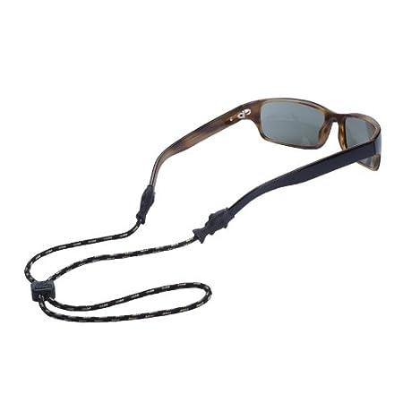 Chums Fish Tip 3mm Rope Eyewear Retainer, Black 12204100