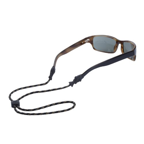 Chums Fish Tip 3mm Rope Eyewear Retainer, Olive by Chums