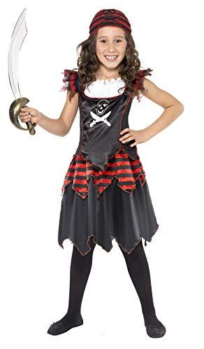 Smiffy's Pirate Skull & Crossbones Girl Costume -