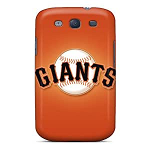Anti-Scratch Hard Phone Covers For Samsung Galaxy S3 With Customized Nice San Francisco Giants Skin AaronBlanchette