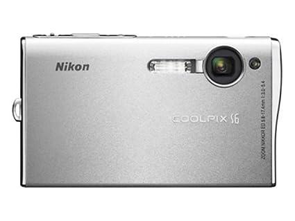 amazon com nikon coolpix s6 6mp digital camera with 3x optical rh amazon com Nikon Coolpix Digital Camera Manual Nikon Coolpix Digital Camera Manual