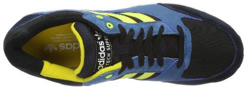 Adidas Originals Tech Super-1 - Zapatillas deportivas hombre negro - Black/Electricity/Legend Ink