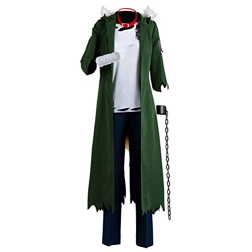 NoveltyBoy My Boku no Hero Academia Katsuki Bakugou Halloween Cosplay Costume Coat Outfit]()