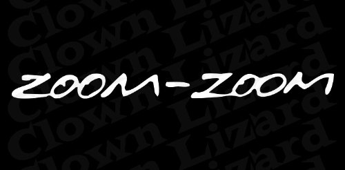 zoom zoom window decal - 9