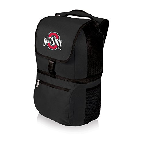 NCAA Ohio State Buckeyes Zuma Insulated Cooler Backpack, Black ()