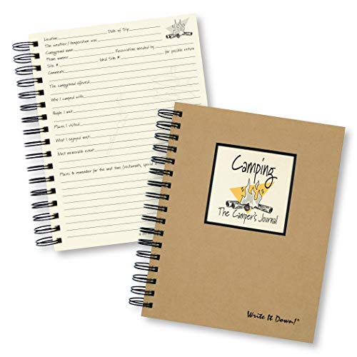 Camping, The Camper's Journal (Natural Brown) (Write It Down) ()