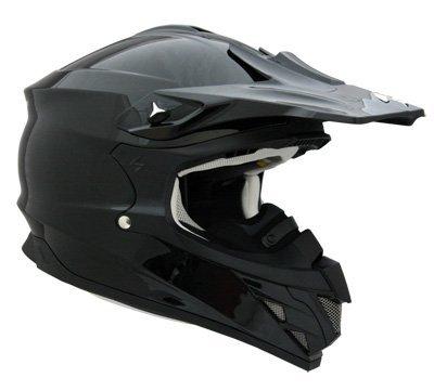 Scorpion Snow Ready VX-34 Winter Sport Racing Snowmobile Helmet - Gloss Black / X-Large