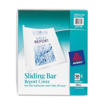 AVE47710 - Avery Non-Slip Sliding Bar Report Cover Avery Plastic Report Covers