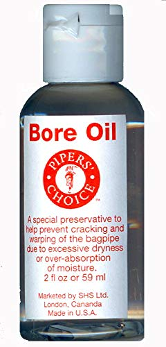 - Bore Oil for Bagpipes and Other Musical Instruments