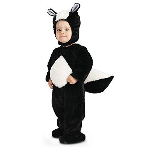 Wonder Clothing Smelly Skunk Infant Boys Costume Black ()