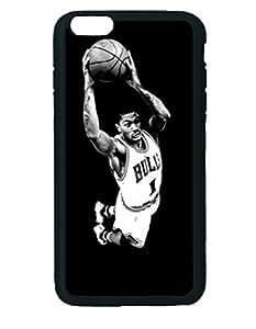 Derrick Rose Dunk Custom Diy Unique Image Durable Rubber Silicone Case Iphone 6 Plus - 5.5 inches