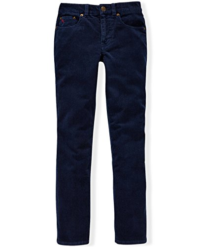 Corduroy Boys Pants (Ralph Lauren Slim Fit Corduroy Pants (Big Boys) (16, Newport Navy))