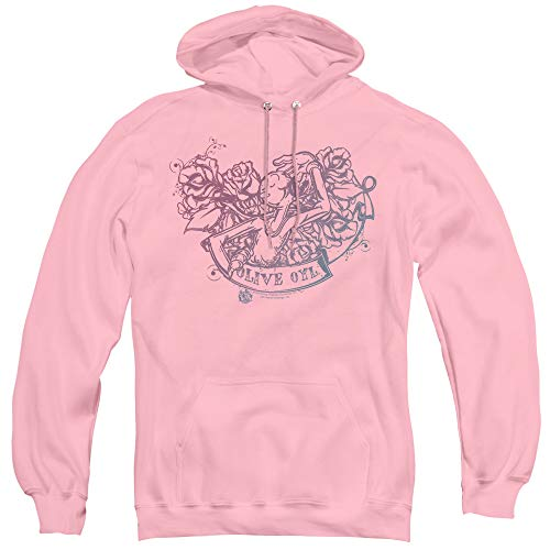 (Popeye Olive OYL Tattoo Unisex Adult Pull-Over Hoodie for Men and Women,)
