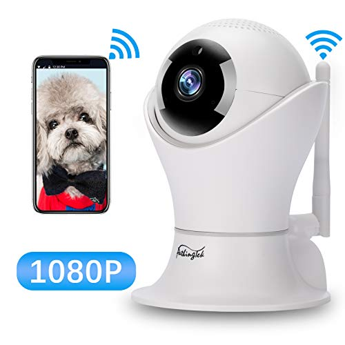 WiFi IP Camera 1080P HD Wireless Camera Baby Pet Monitor Surveillance Home Security Camera Nanny IP Cam Pan/Tilt Motion Detection Two-Way Audio Night Vision Wireless IP Camera For Sale