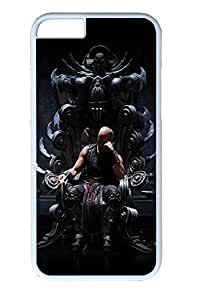 iPhone 6 Plus Case, Riddick Throne Black Ideas Cute Ultra Slim Pattern Bumper for iPhone 6 Plus Cover (5.5) iPhone 6 Plus cases for Girls iphone 6 Plus case hard PC White Skin