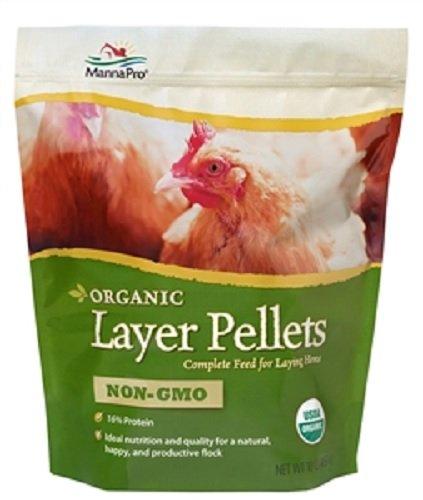 Manna Pro Organic Layer Pellets, 10 lb by Manna Pro