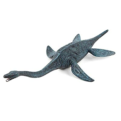 Hibon Dinosaur Model Simulated Dinosaur Figurine Realistic Plastic Jurassic Dinosaur for Collection Science Educational Props (Plesiosaur): Home & Kitchen