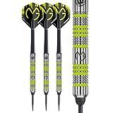 Winmau Unisex's WMA100102 Darts, Black/Green, Medium