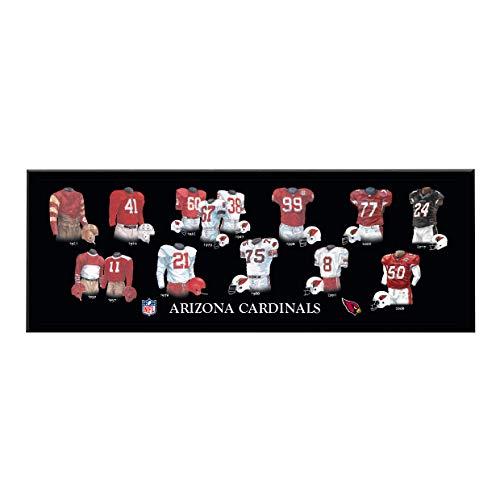 Winning Streak NFL Arizona Cardinals Unisex Arizona Cardinals Legacy Uniform PlaqueArizona Cardinals Legacy Uniform Plaque, Black, Plaque