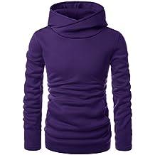 NEARKIN Beloved Mens Kangaroo Pocket Fleece Added Hooded Sweatshirts