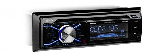 BOSS AUDIO 506UA Single-DIN CD/MP3 Player Receiver, Wireless Remote