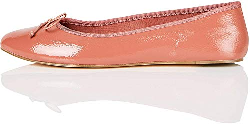 Amazon Brand - find. Simple, Women's Closed Toe Ballet Flats