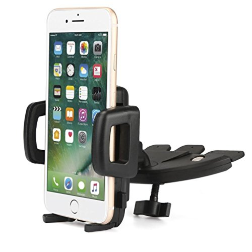Rotatable Car CD Slot Mount Bracket Holder for iPhone Cell Phone GPS Modish Aobiny Cell Phone Holder For Mobile Phone