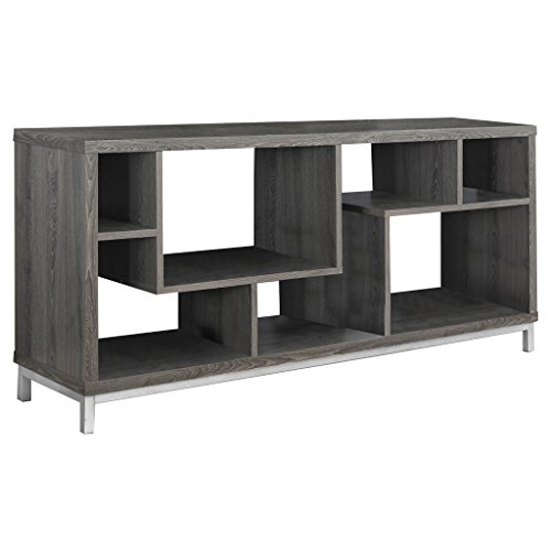 Monarch Specialties I 2578 Dark Taupe TV Stand, 60