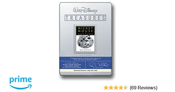 Amazon com: Walt Disney Treasures - Mickey Mouse in Black and White
