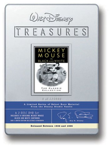 Walt Disney Treasures - Mickey Mouse in Black and White by Disney