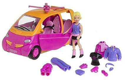 3a38352d5 Buy Mattel Polly Pocket Heli-car-pter Orange   Pink Playset Online ...