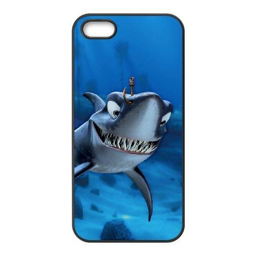 Finding Nemo 006 coque iPhone 5 5S Housse téléphone Noir de couverture de cas coque EOKXLLNCD09984