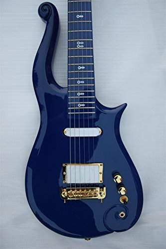 Good Quality Factory Prince Cloud Symbol Electric Guitar with Hardcase (dark blue) (Electric Guitar Prince)