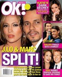 Download OK Weekly Magazine Jennifer Lopez & Marc Anthony April 23, 2007 Issue (Elizabeth Mitchell, Jason Lewis, Martina McBride) pdf epub